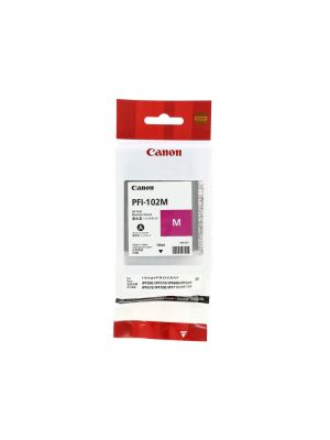Canon PFI102 Genuine Magenta Ink