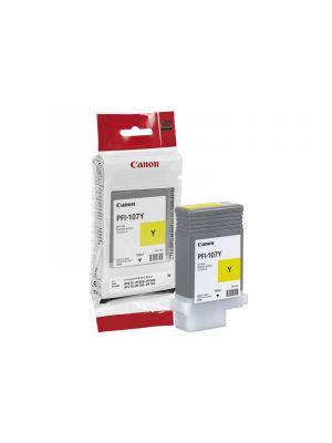 Canon PFI107 Genuine Yellow Ink