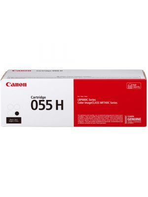 Canon CART-055H Genuine Black High Capacity Toner Cartridge - 7,600 pages