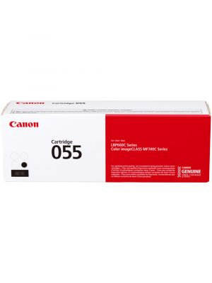 Canon CART 055 Genuine Black Toner Cartridge - 2,300 pages