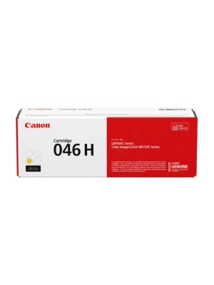 Canon CART046 Genuine Yellow High Yield Toner Cartridge - 5,000 pages