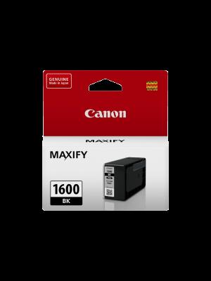 Canon PGI1600BK Genuine Black Ink Tank - 400 pages