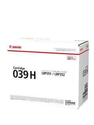 Canon CART039II Genuine Black High Yield Toner Cartridge - 11,000 pages