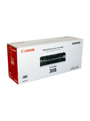 Canon CART308 Genuine Black Toner Cartridge - 2,500 pages