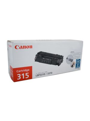 Canon CART315 Genuine Black Toner Cartridge - 3,000 pages