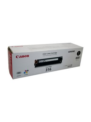 Canon CART316 Genuine Black Toner Cartridge - 2,500 pages