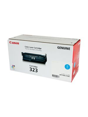 Canon CART323 Genuine Cyan Toner Cartridge - 8,500 pages