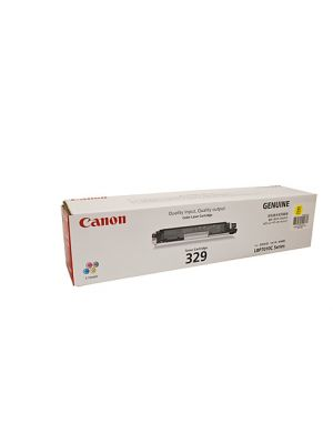 Canon CART329 Genuine Yellow Toner Cartridge - 1,000 pages