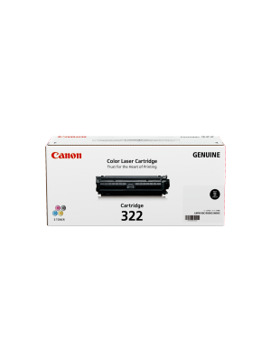 Canon CART322 Genuine Black Toner Cartridge - 6,500 pages