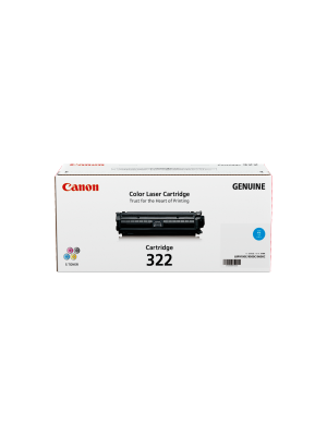 Canon CART322 Genuine Cyan Toner Cartridge - 7,500 pages