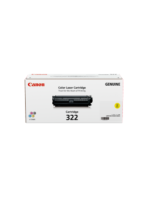Canon CART322 Genuine Yellow Toner Cartridge - 7, 500 pages