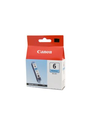Canon BCI6PC Genuine Photo Cyan Ink Tank - 100 pages
