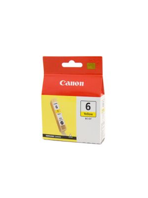 Canon BCI6Y Genuine Yellow Ink Tank - 100 pages