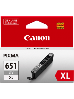 Canon CLI651XL Genuine Grey Ink Cartridge