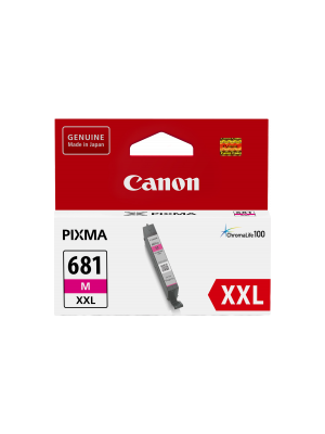 Canon CLI681XXL Genuine Magenta Ink Cartridge - 760 pages