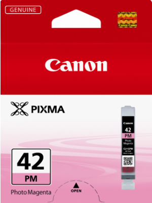 Canon CLI42 Genuine Photo Magenta Ink Cartridge - 37 pages A3+