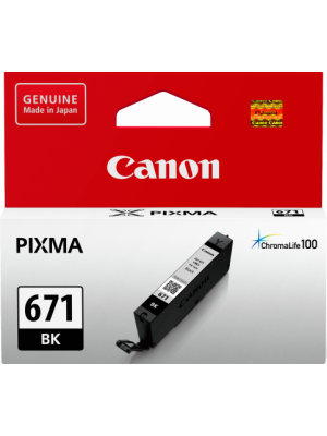 Canon CLI671 Genuine Black Ink Cartridge
