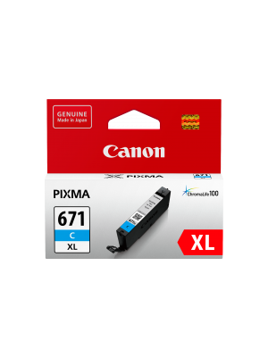 Canon CLI671XL Genuine Cyan Ink Cartridge