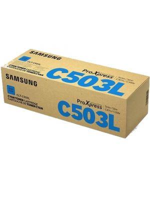 Samsung CLTC503L Genuine Cyan Toner - 5,000 pages