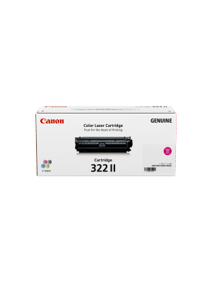Canon CART322 Genuine Magenta High Yield Toner Cartridge - 15, 000 pages