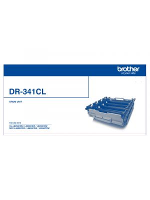 Brother DR341CL Genuine Drum Unit - 25,000 pages