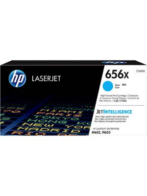 HP #656X Genuine Cyan Toner CF461X - 22,000 pages