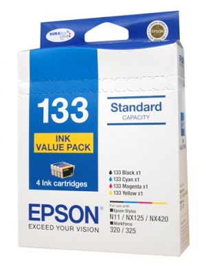 Epson 133 Genuine Ink Value Pack -