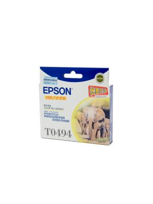 Epson T0494 Genuine Yellow Ink Cartridge - 430 pages