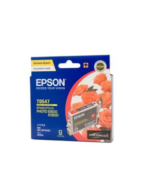 Epson T0547 Genuine Red Ink - 440 pages