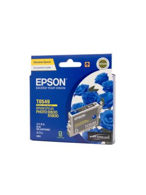 Epson T0549 Genuine Blue Ink - 440 pages