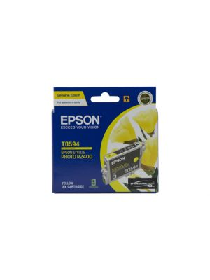 Epson T0594 Genuine Yellow Ink Cartridge - 450 pages