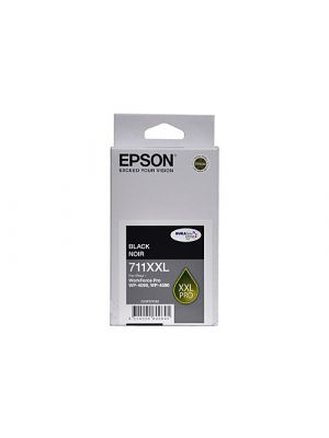 Epson 711XXL Genuine Black Ink Cartridge - 3,400 pages