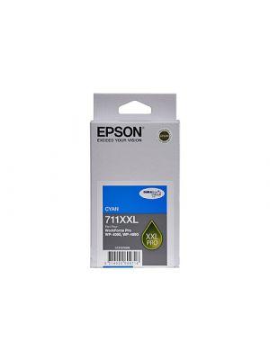 Epson 711XXL Genuine Cyan Ink Cartridge - 3,400 pages