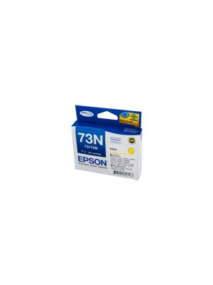 Epson 73N Genuine Yellow Ink Cartridge - 310 pages