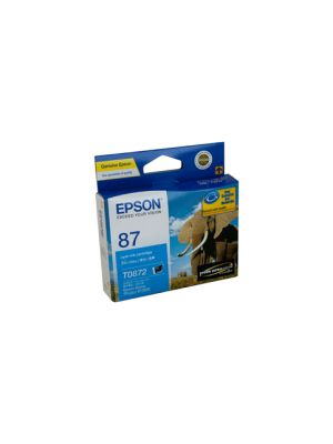 Epson T0872 Genuine Cyan Ink - 915 pages