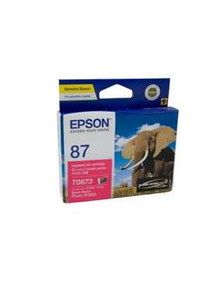 Epson T0873 Genuine Magenta Ink - 915 pages