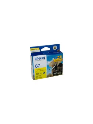 Epson T0874 Genuine Yellow Ink - 915 pages