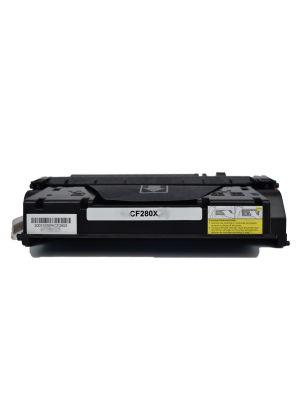 Ecotech, CF280X #80X Compatible Black Cartridge - 6,900 pages