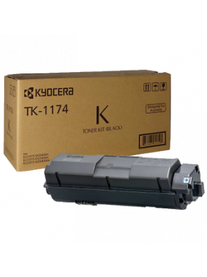 Kyocera TK1174 Genuine Toner Cartridge - 7,200 pages