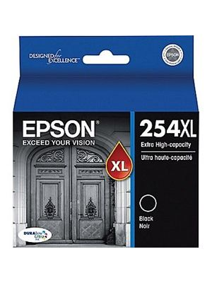 Epson 254XL Genuine Extra High Yield Black Ink Cartridge - 2,200 pages