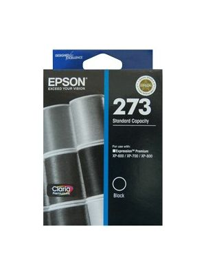 Epson 273 Genuine Black Ink Cartridge - 250 pages