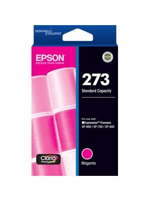 Epson 273 Genuine Magenta Ink Cartridge - 300 pages