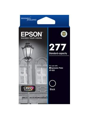Epson 277 Genuine Black Ink Cartridge - 240 pages