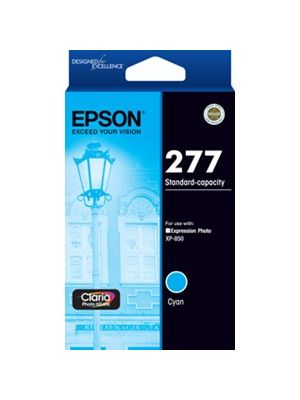 Epson 277 Genuine Cyan Ink Cartridge - 360 pages