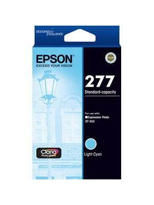 Epson 277 Genuine Light Cyan Ink Cartridge - 360 pages