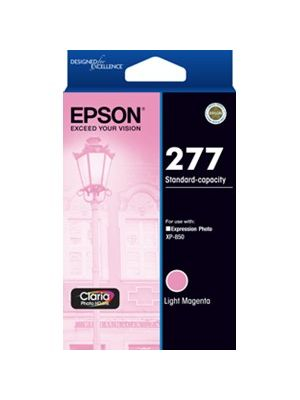 Epson 277 Genuine Light Magenta Ink Cartridge - 360 pages
