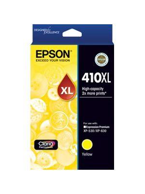 Epson 410XL Genuine High Yield Yellow Ink Cartridge