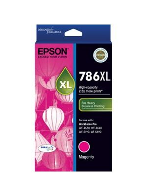 Epson 786XL Genuine Magenta Ink Cartridge - 2,000 pages
