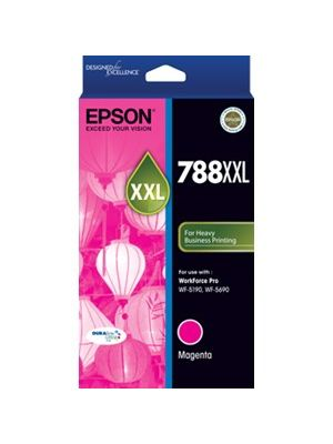 Epson 788XXL Genuine Magenta Ink Cartridge - 4,000 pages
