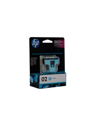 HP #02 Genuine Light Cyan Ink C8774WA - 350 pages